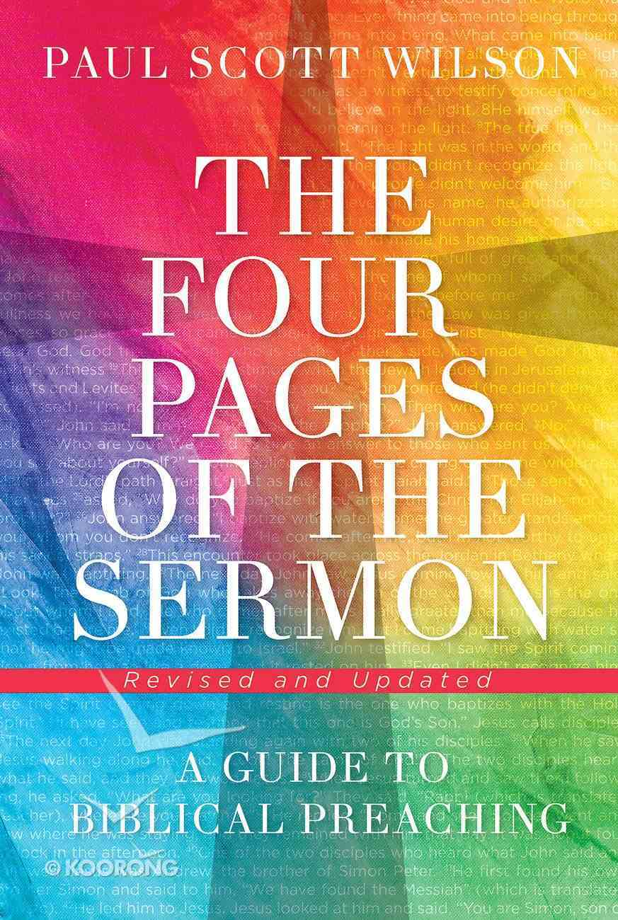 The Four Pages of the Sermon: A Guide to Biblical Preaching eBook