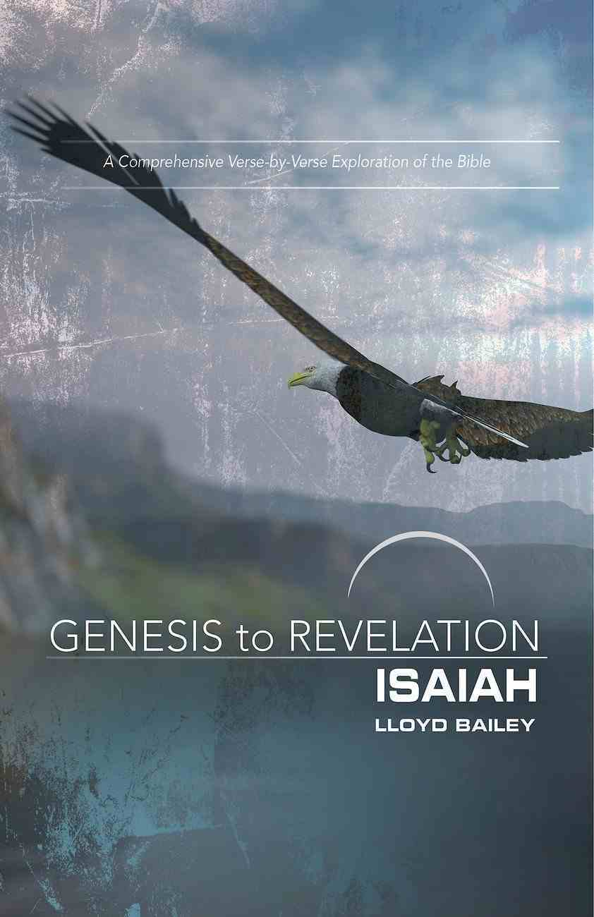 Isaiah Participant Book Large Print (Genesis To Revelation Series) eBook