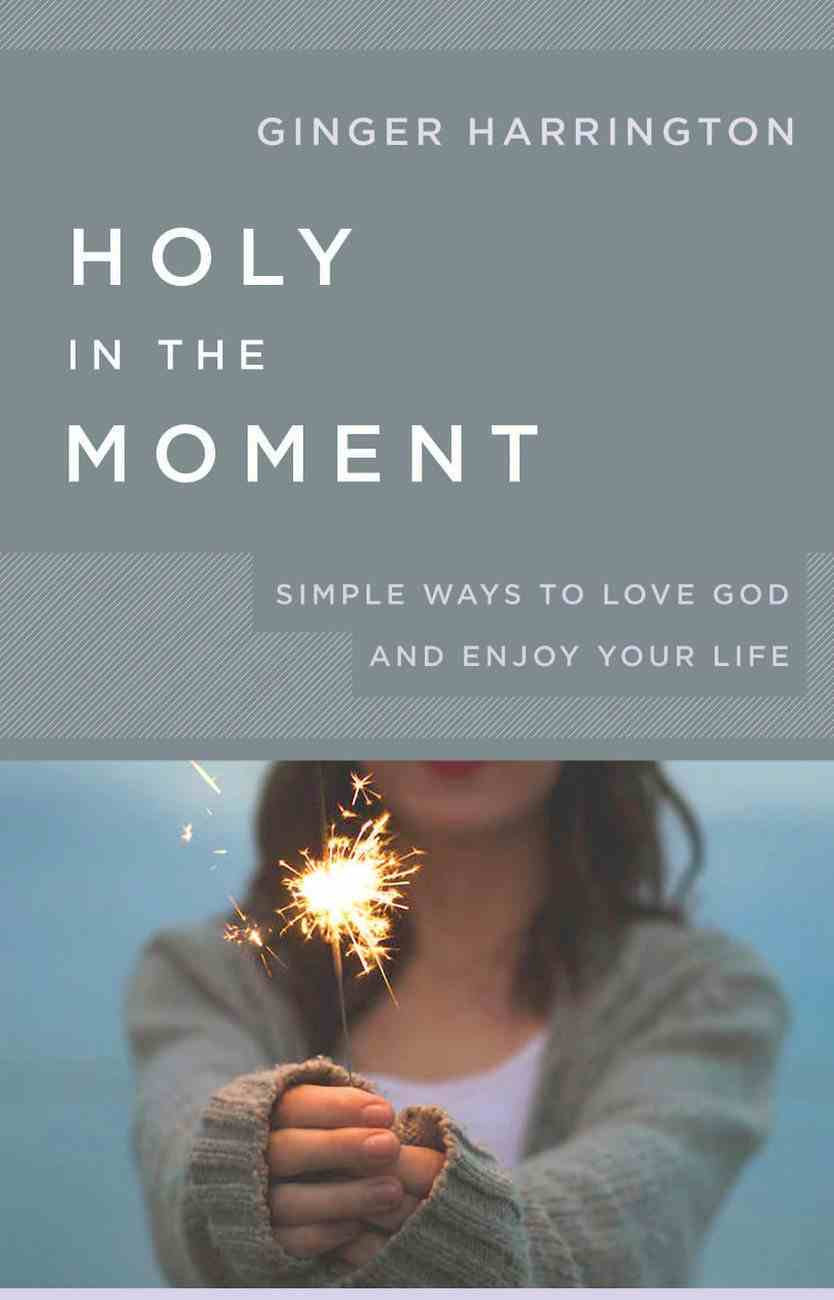 Holy in the Moment: Simple Ways to Love God and Enjoy Your Life eBook