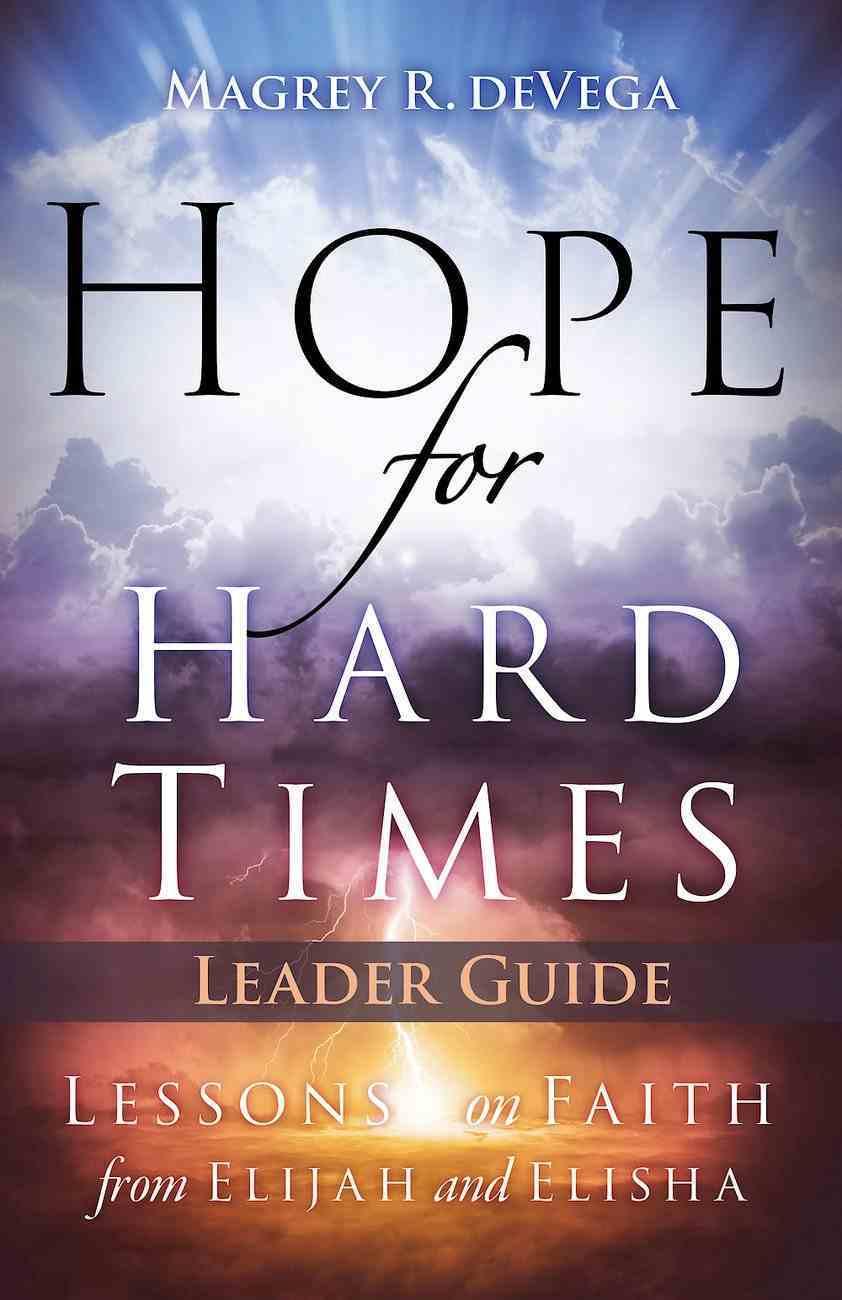 Hope For Hard Times Leader Guide eBook