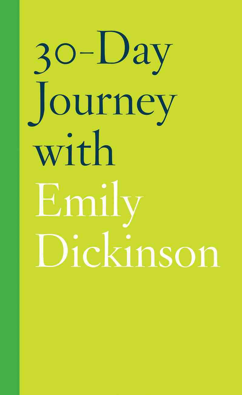 30-Day Journey With Emily Dickinson eBook