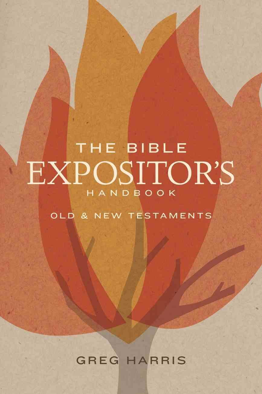 The Bible Expositor's Handbook eBook