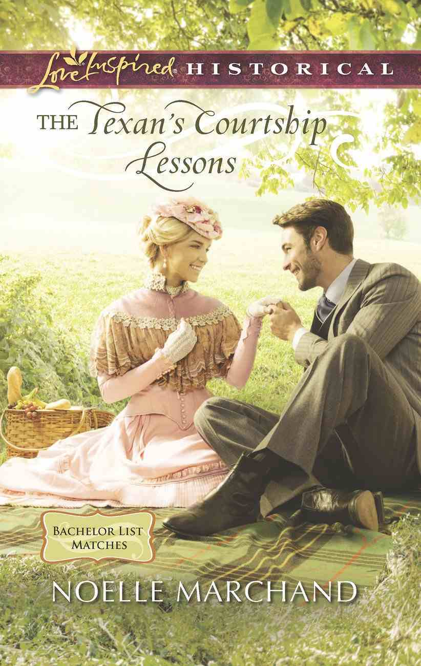 The Texan's Courtship Lessons (Love Inspired Historical Series) eBook
