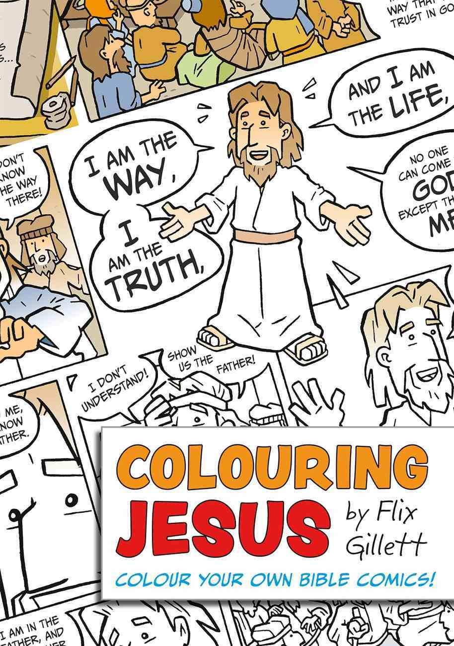 Colouring Jesus Paperback