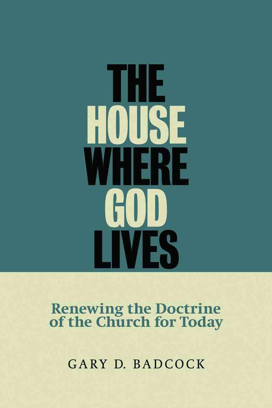 House Where God Lives Paperback