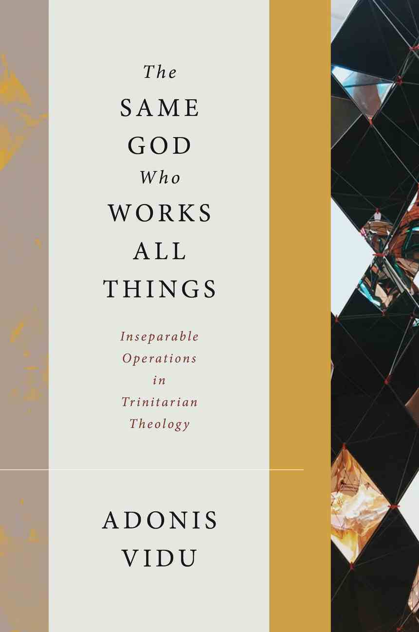 The Same God Who Works All Things: Inseparable Operations in Trinitarian Theology Hardback