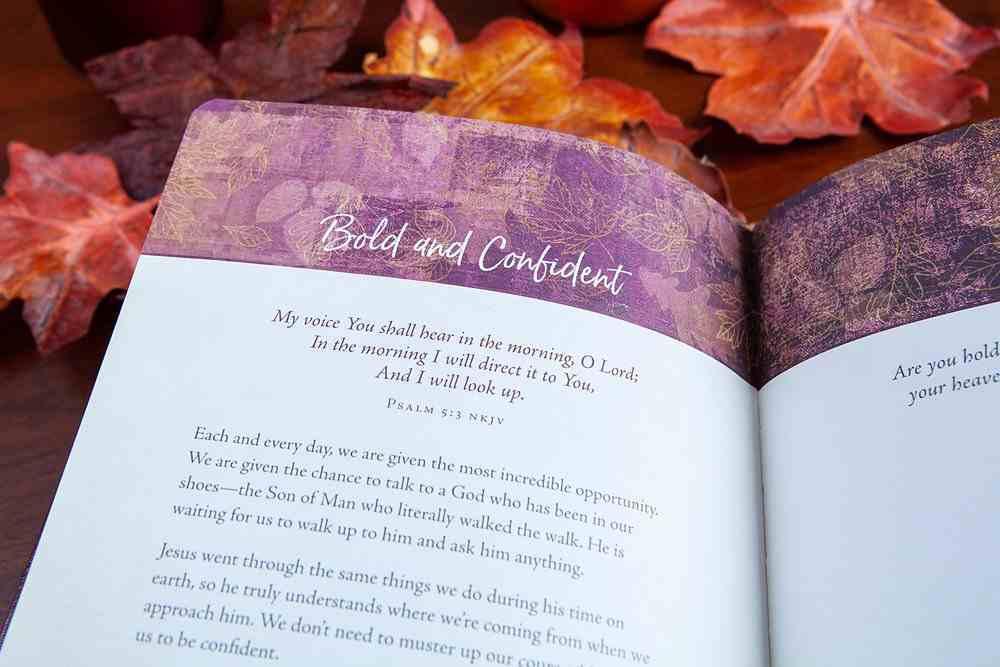90-Day Devotional: Autumn - a Season of Thanksgiving Imitation Leather