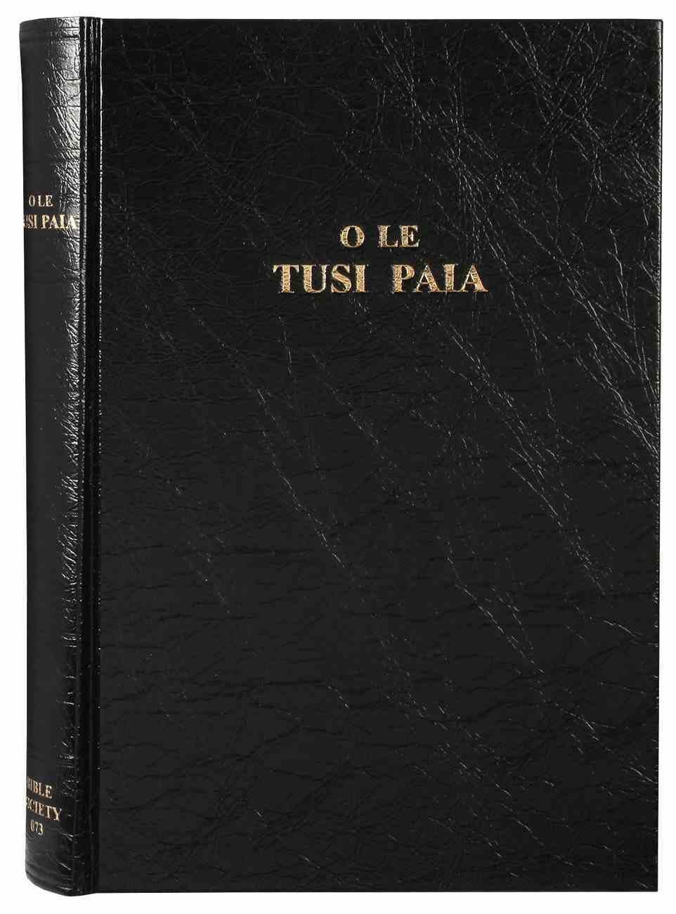 Samoan Bible 1887 Old Large Print Hardback