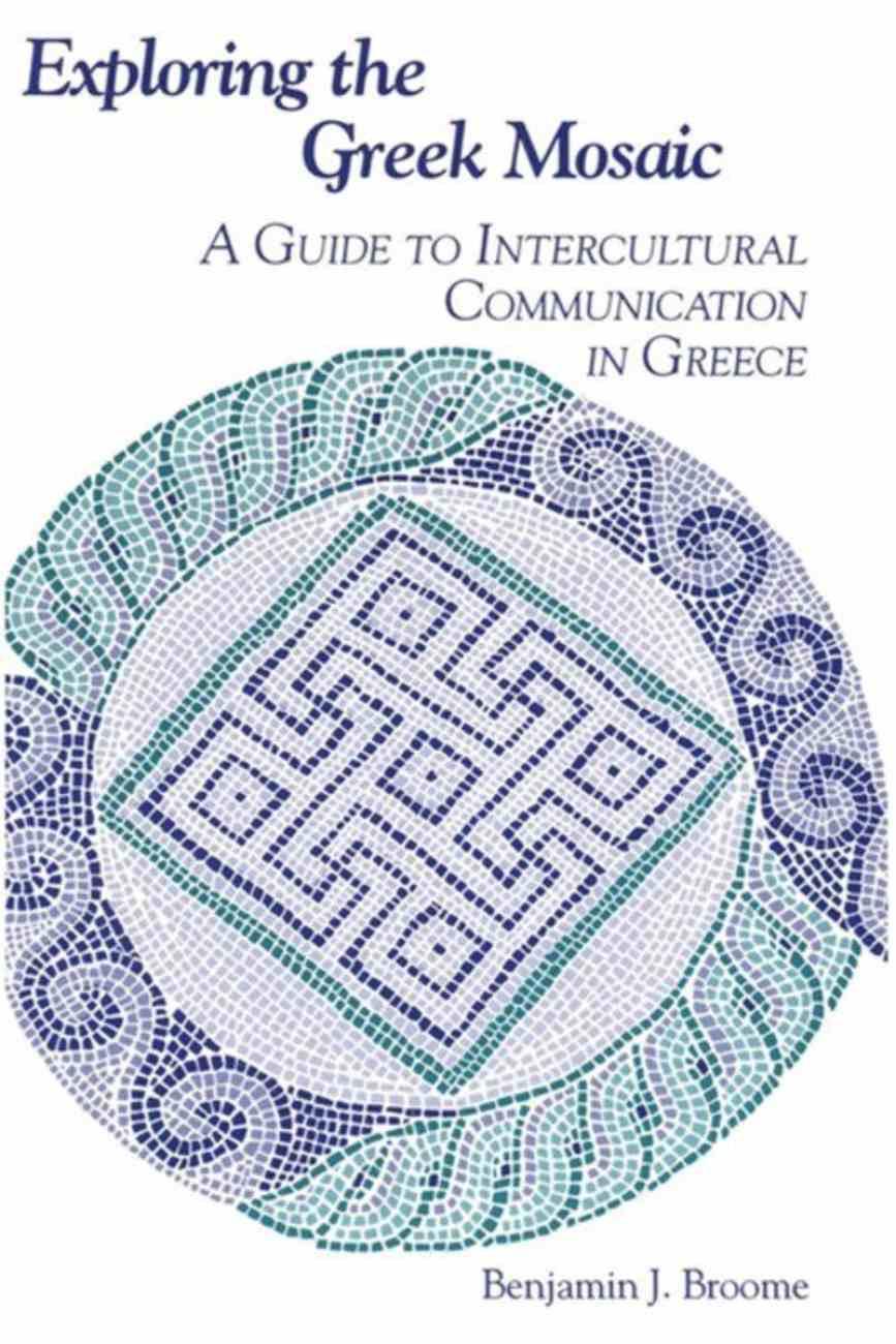 Exploring the Greek Mosaic Paperback