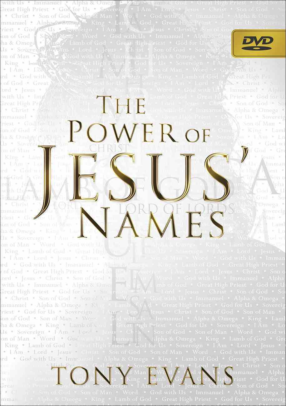The Power of Jesus' Names (Dvd) DVD