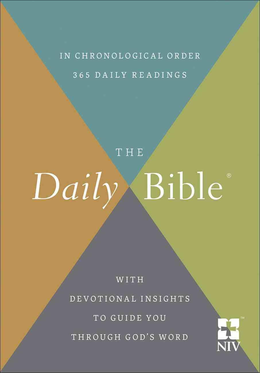 The NIV Daily Bible Paperback
