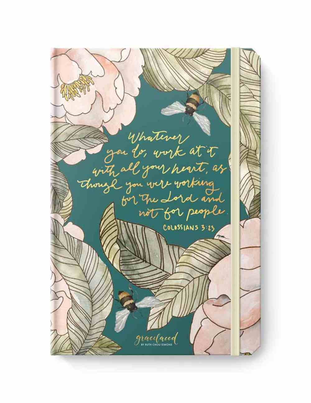 Gracelaced Folio With Notepad Stationery