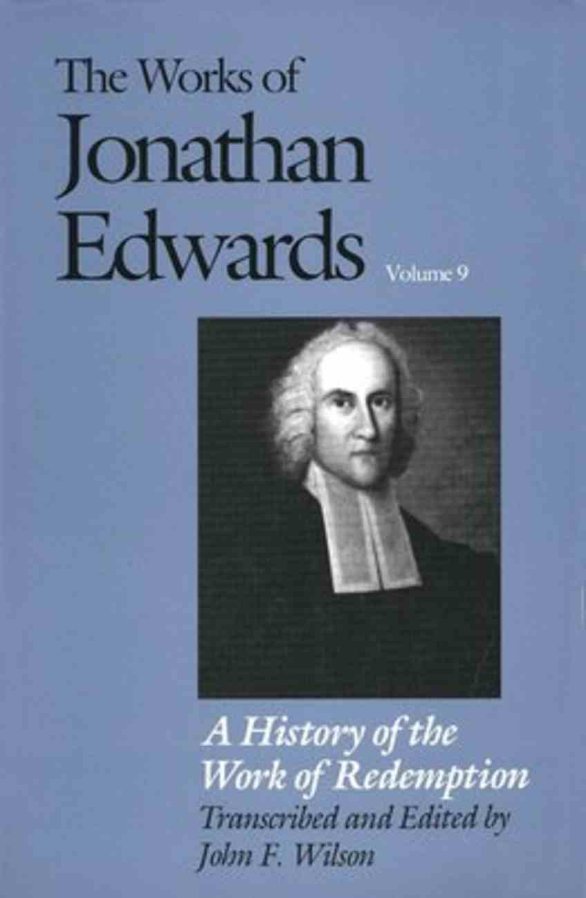 History of Work of Redemption Hardback