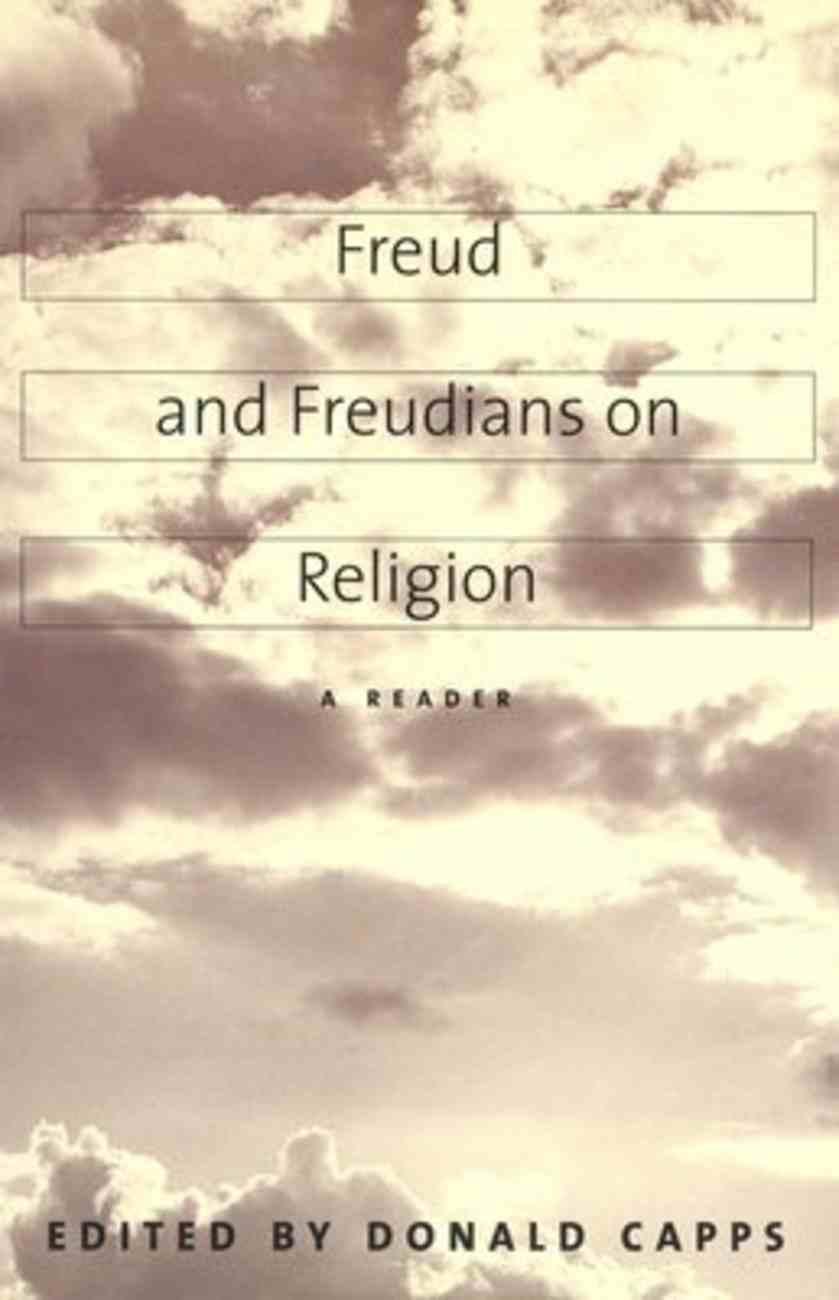 Freud and Freudians on Religion Paperback