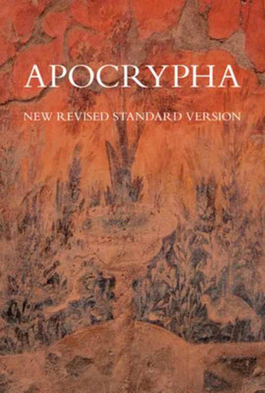 NRSV Apocrypha Red Hardback