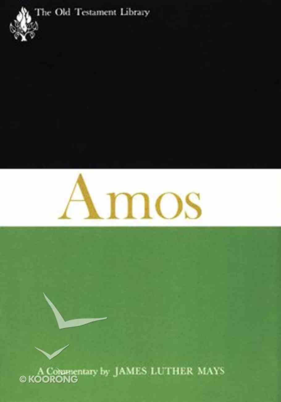 The Book of Amos Hardback