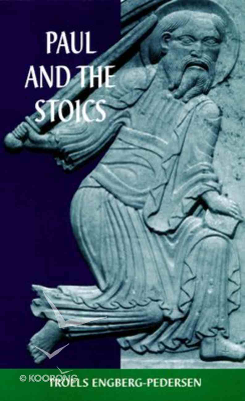 Paul and the Stoics Paperback
