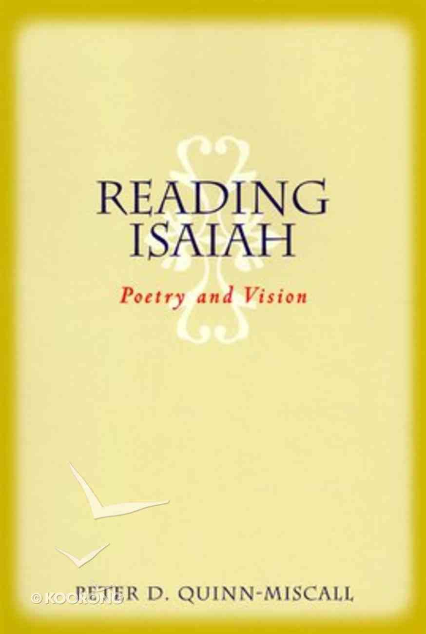Reading Isaiah Paperback