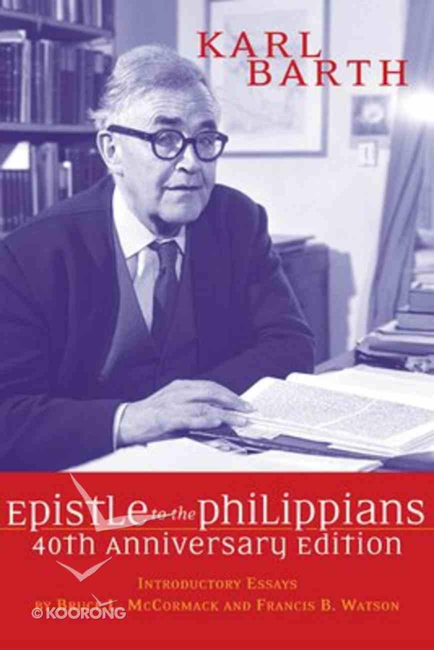 Epistle to the Philippians Paperback