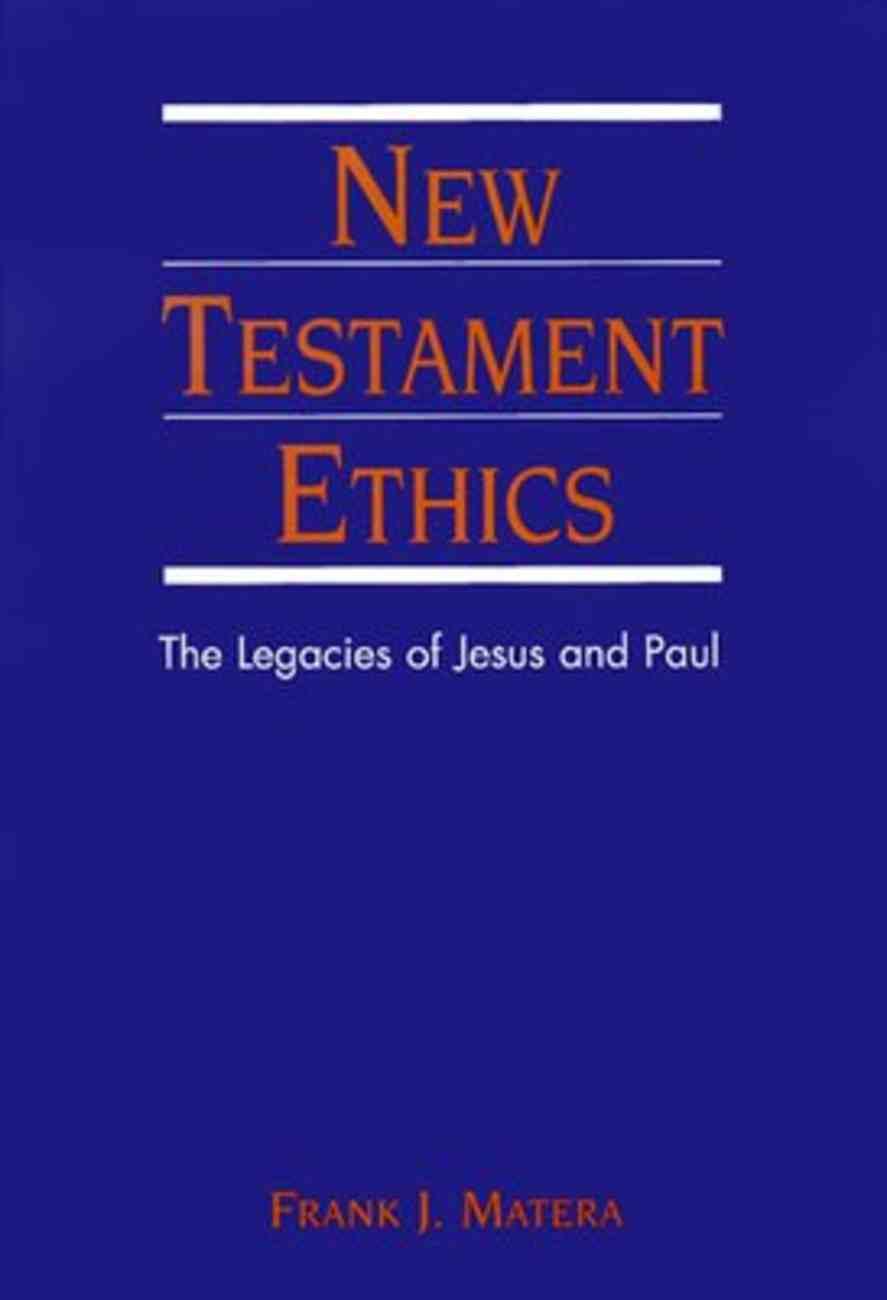 New Testament Ethics Hardback