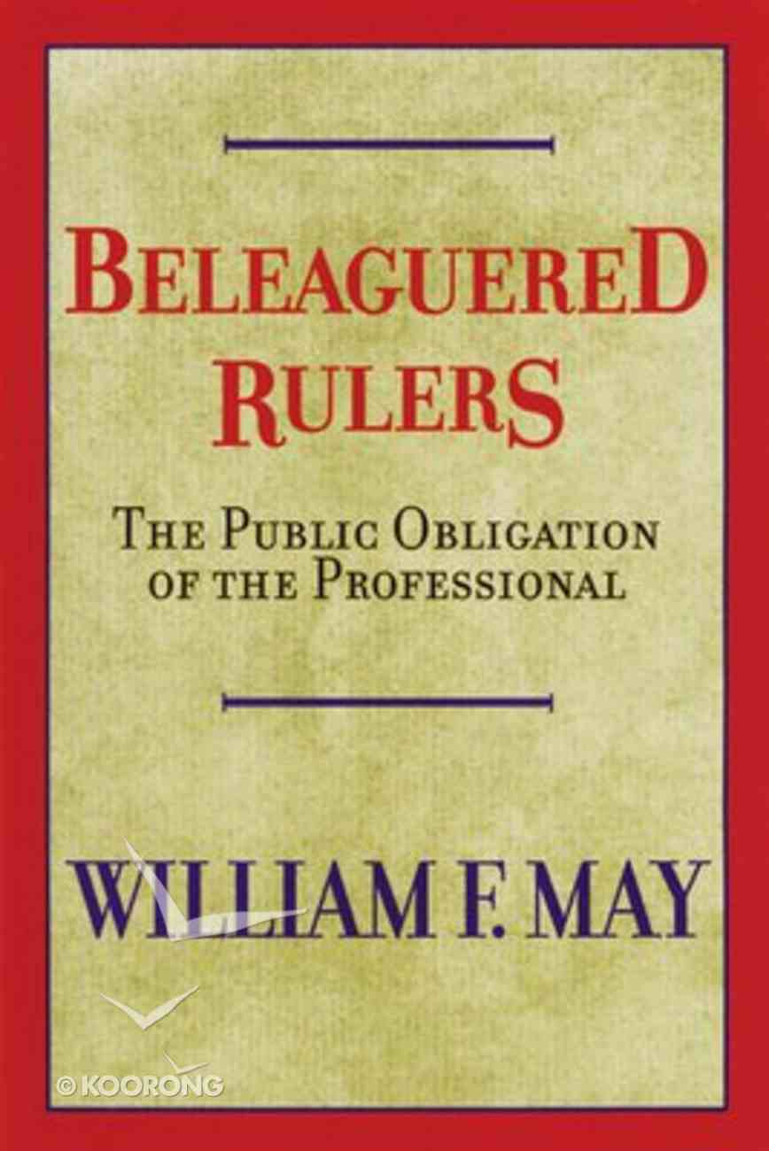 Beleaguered Rulers Paperback