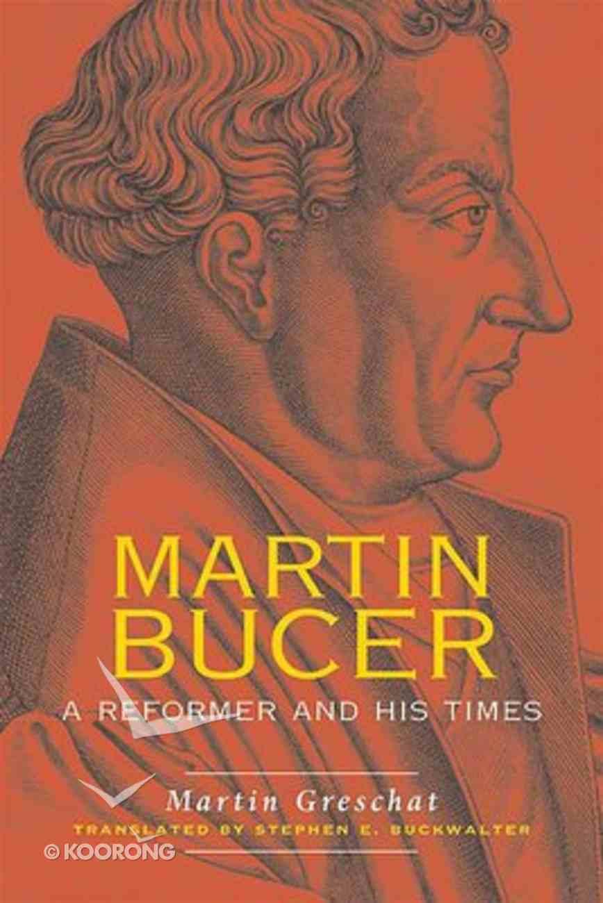 Martin Bucer Paperback
