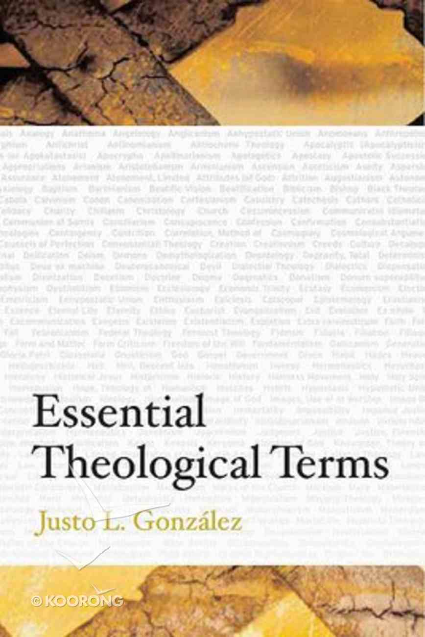 Essential Theological Terms Paperback