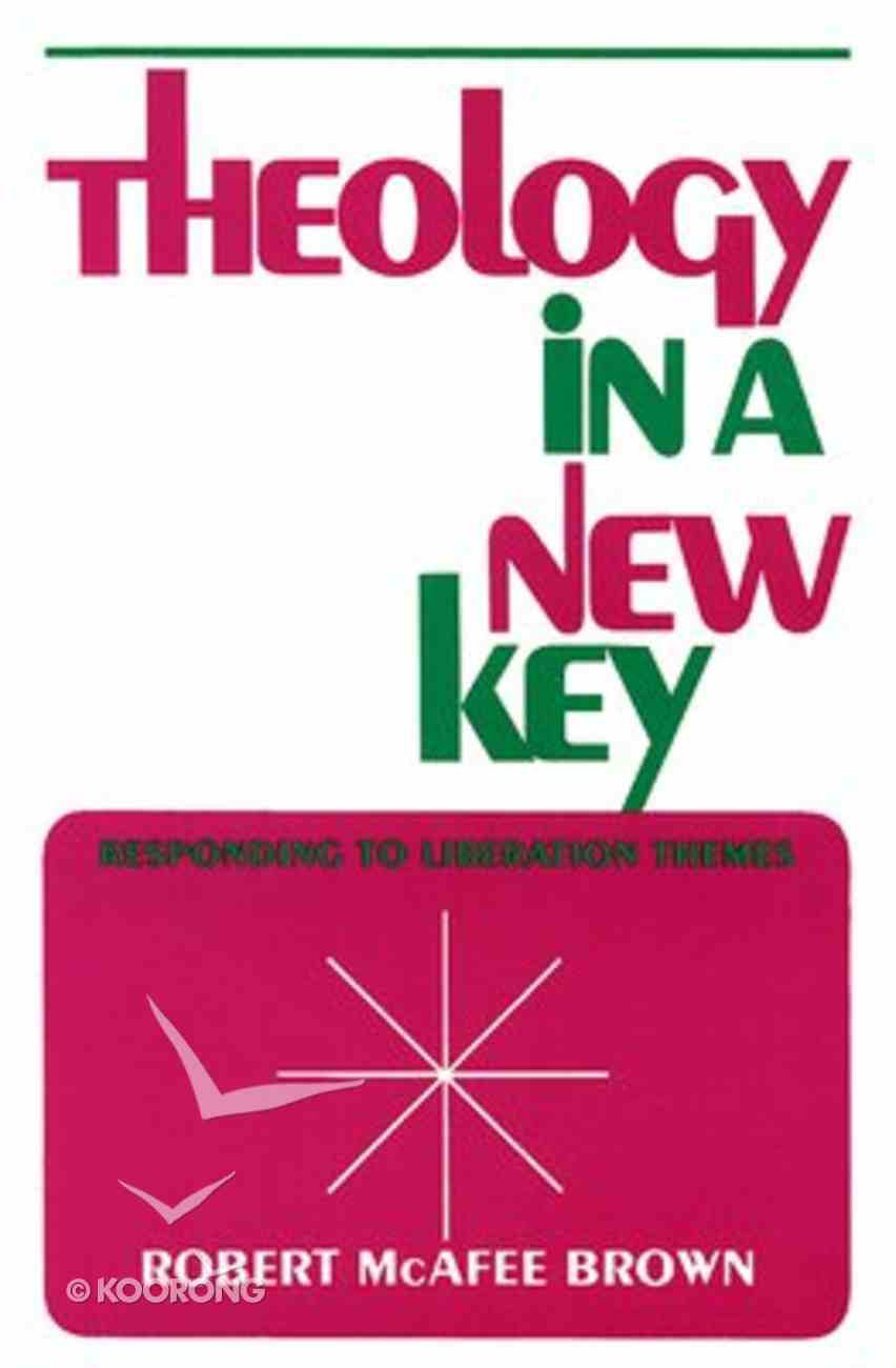 Theology in a New Key Paperback