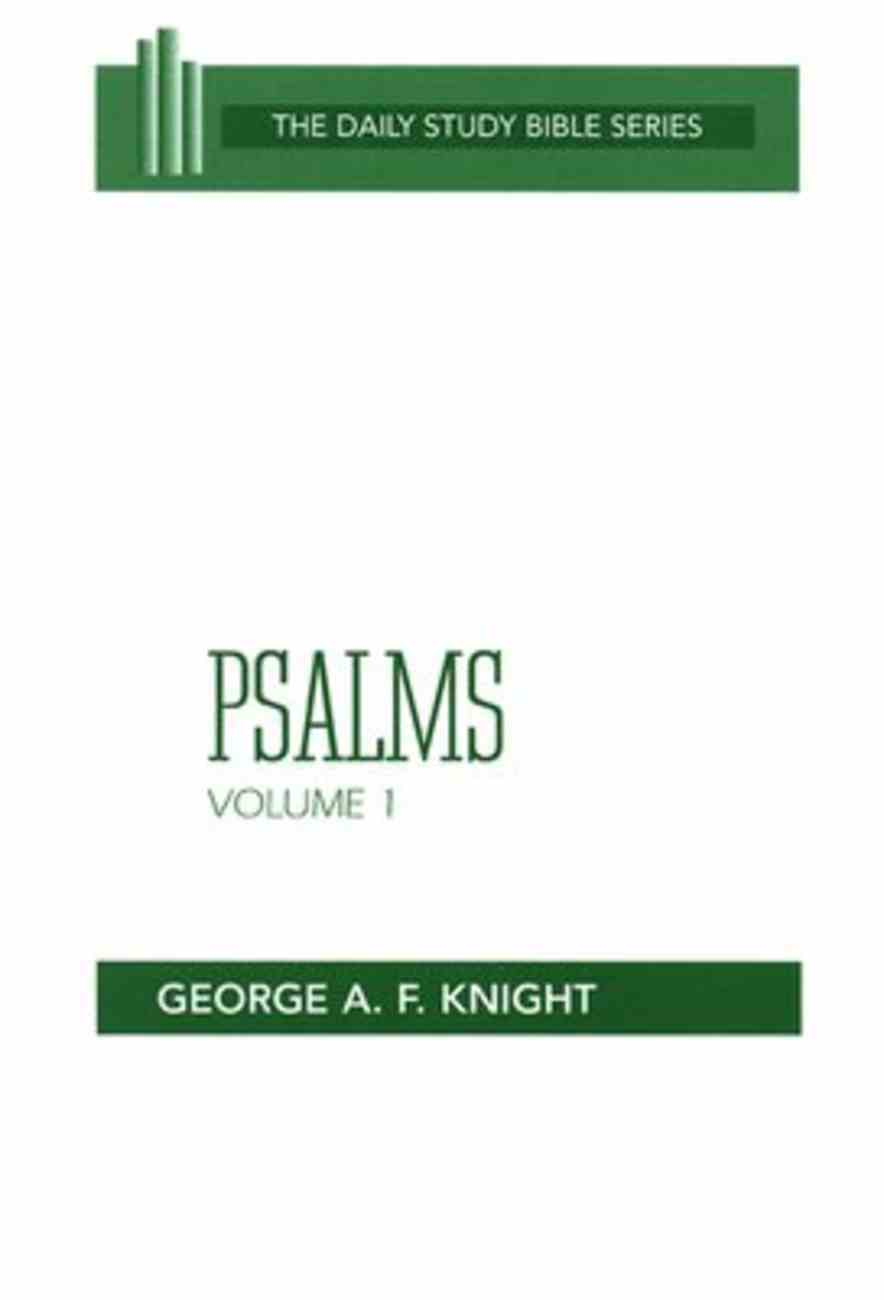 Psalms (Volume 1) (Daily Study Bible Old Testament Series) Paperback