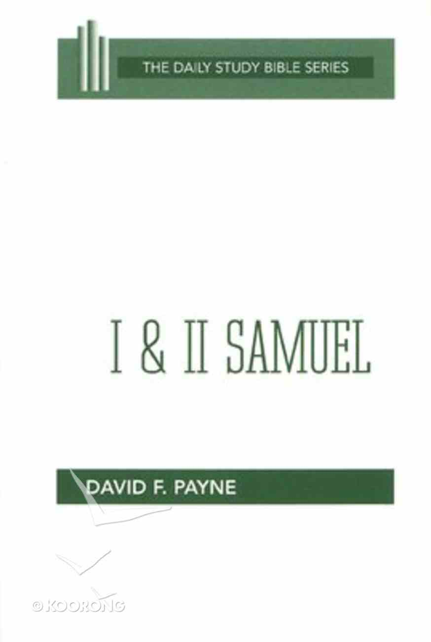 1 & 2 Samuel (Daily Study Bible Old Testament Series) Paperback