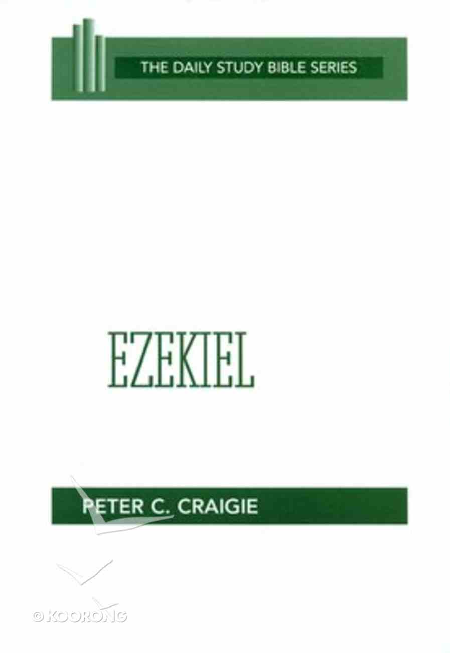 Ezekiel (Daily Study Bible Old Testament Series) Paperback
