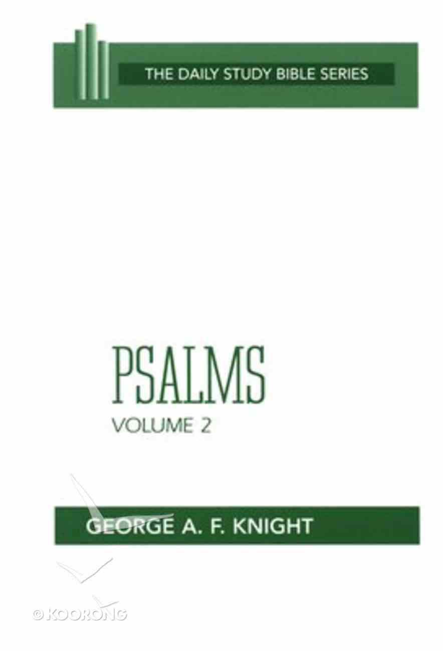 Psalms (Volume 2) (Daily Study Bible Old Testament Series) Paperback