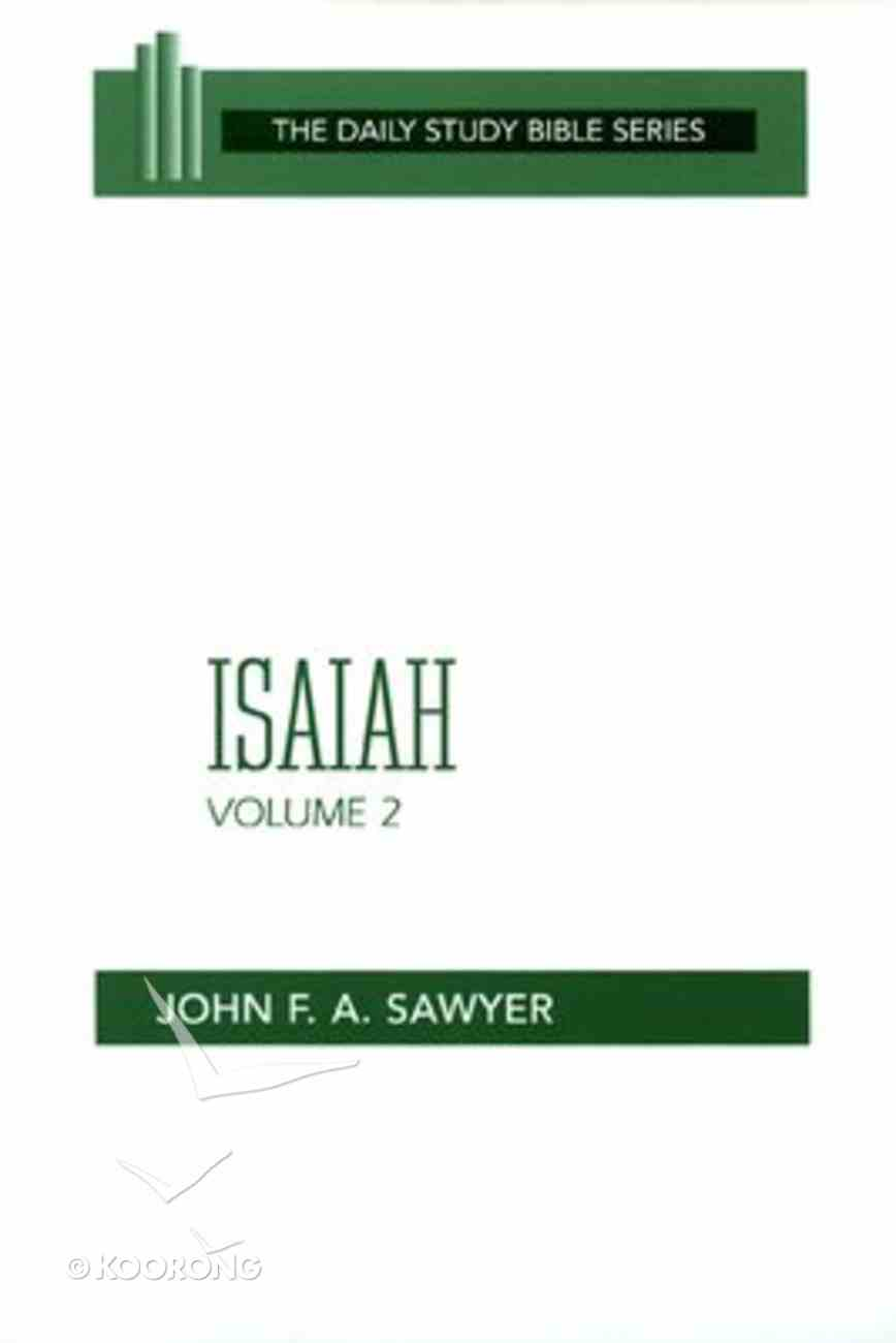 Isaiah (Volume 2) (Daily Study Bible Old Testament Series) Paperback