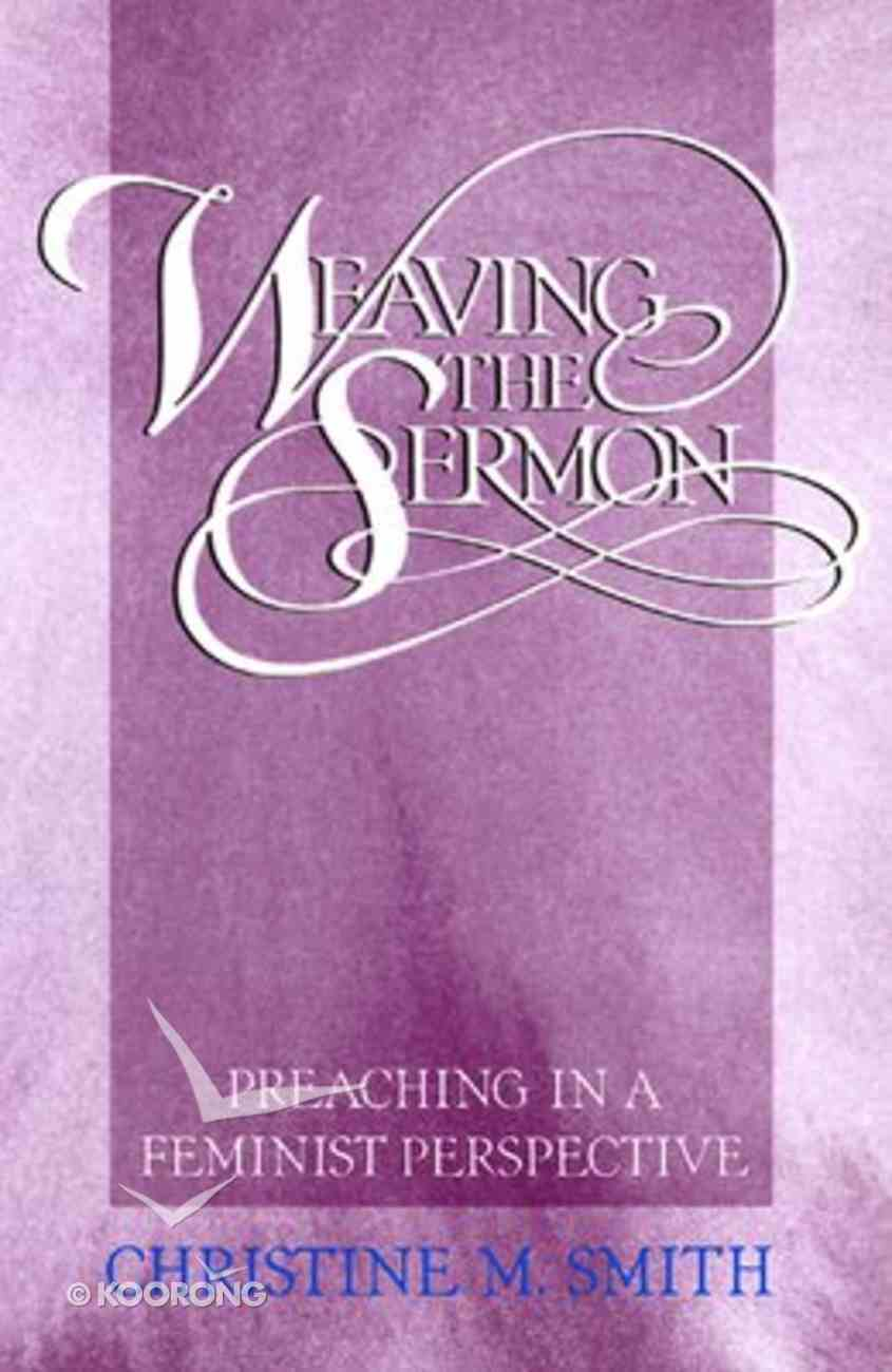 Weaving the Sermon Paperback
