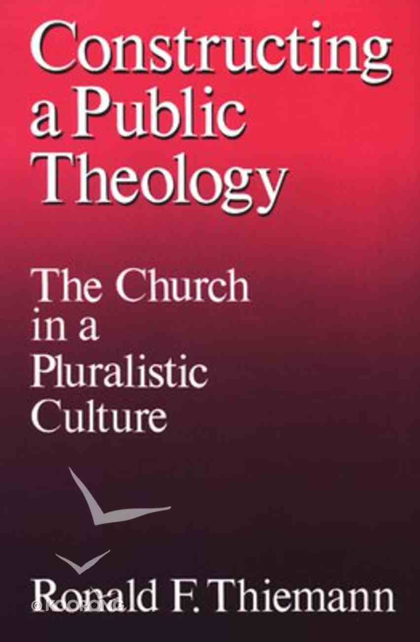 Constructing a Public Theology Paperback
