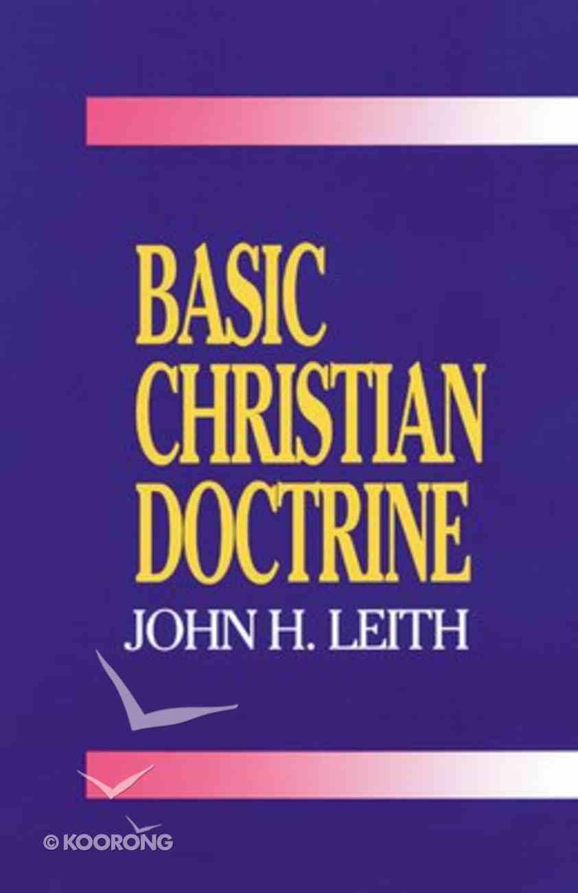Basic Christian Doctrine Paperback