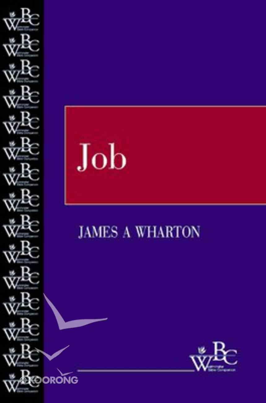 Job (Westminster Bible Companion Series) Paperback