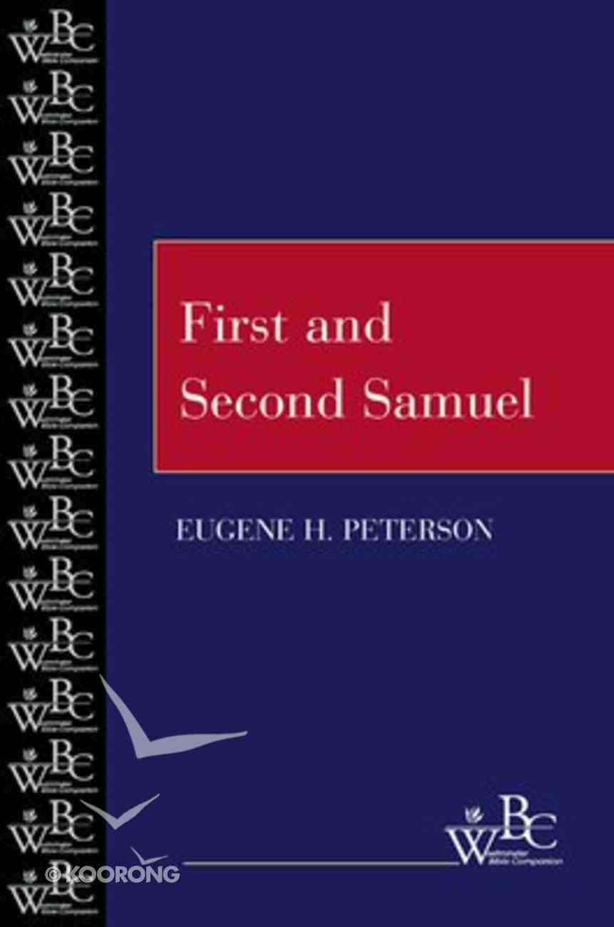 First and Second Samuel (Westminster Bible Companion Series) Paperback