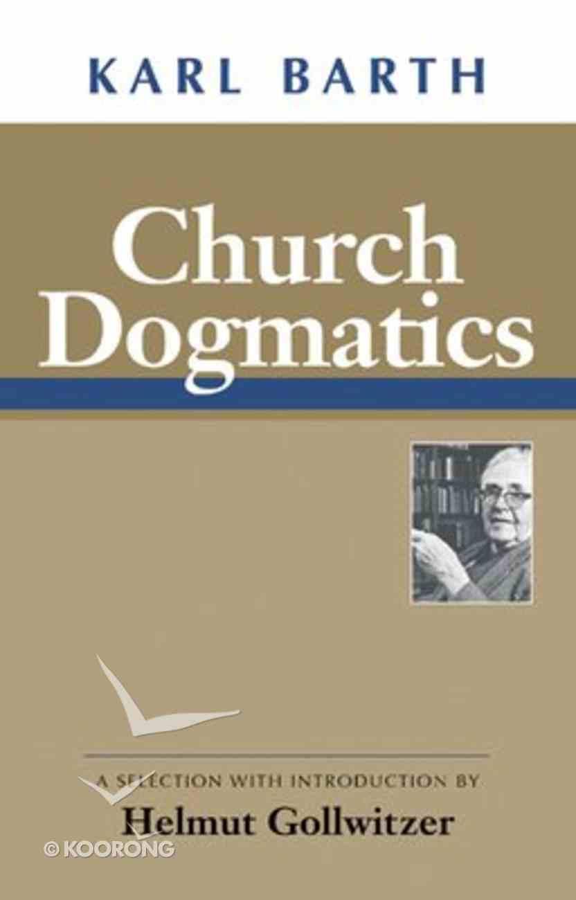 Church Dogmatics Paperback
