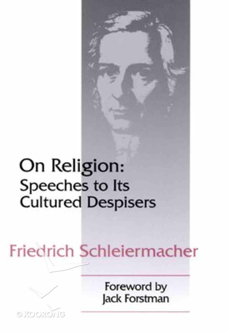 On Religion Paperback
