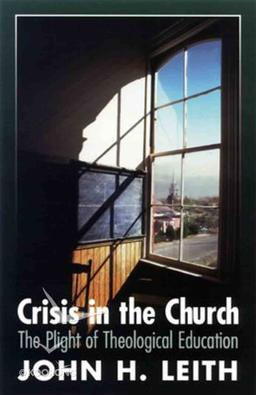 Crisis in the Church Paperback