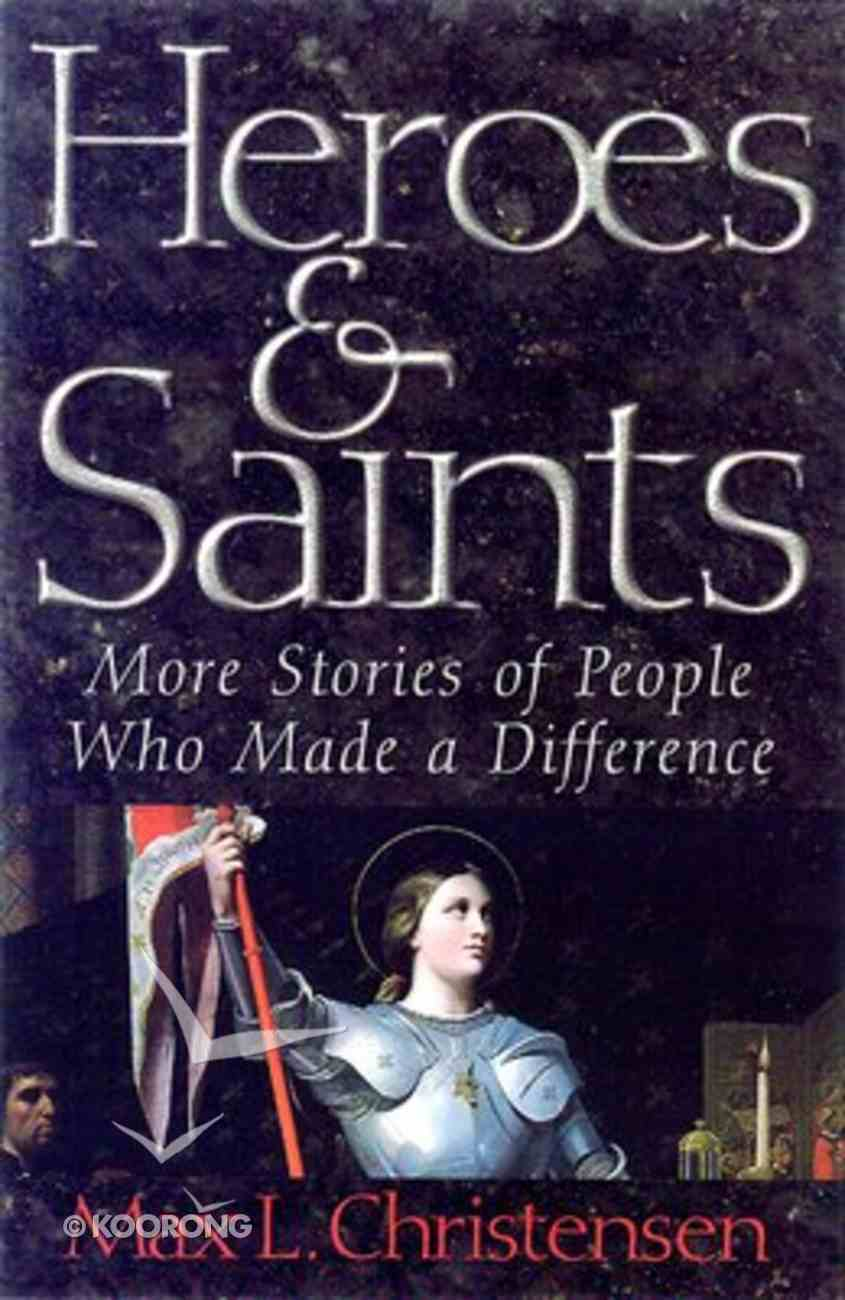 Heroes and Saints Paperback