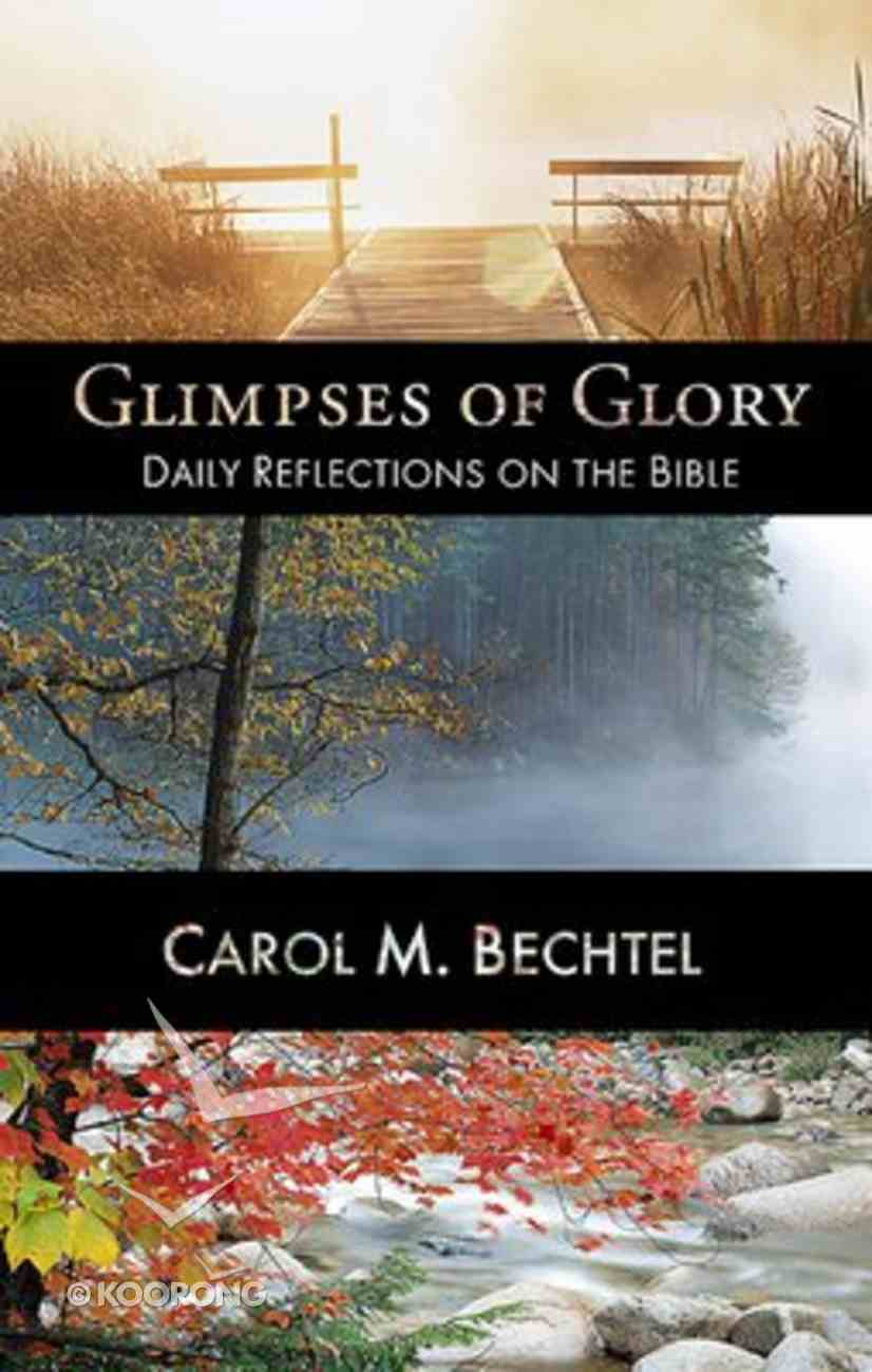 Glimpses of Glory Paperback