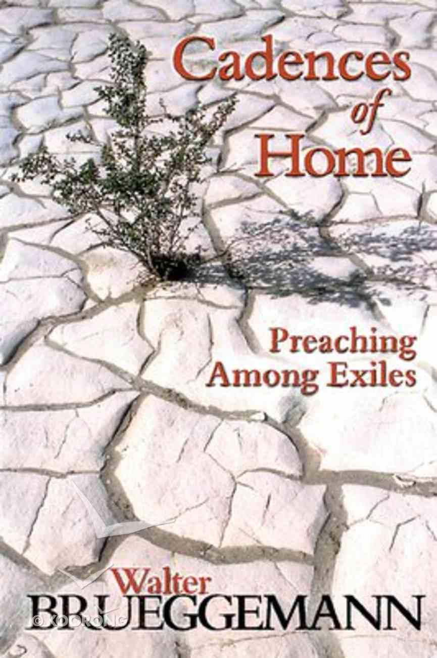 Cadences of Home Paperback