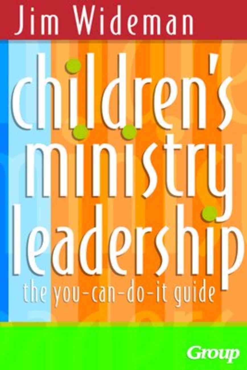 Children's Ministry Leadership Paperback