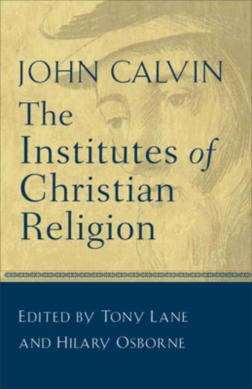 Institutes of Christian Religion Paperback