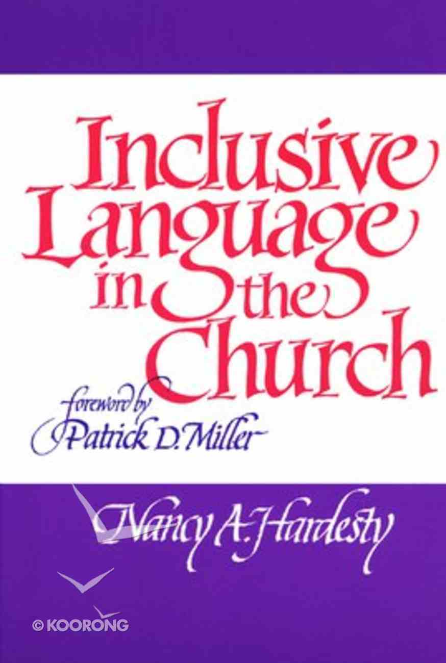 Inclusive Language in the Church Paperback