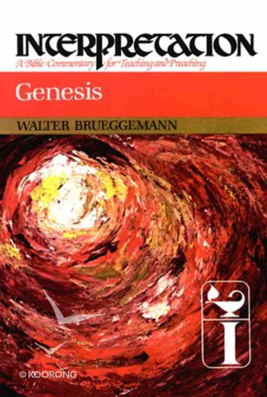 Genesis (Interpretation Bible Commentaries Series) Hardback