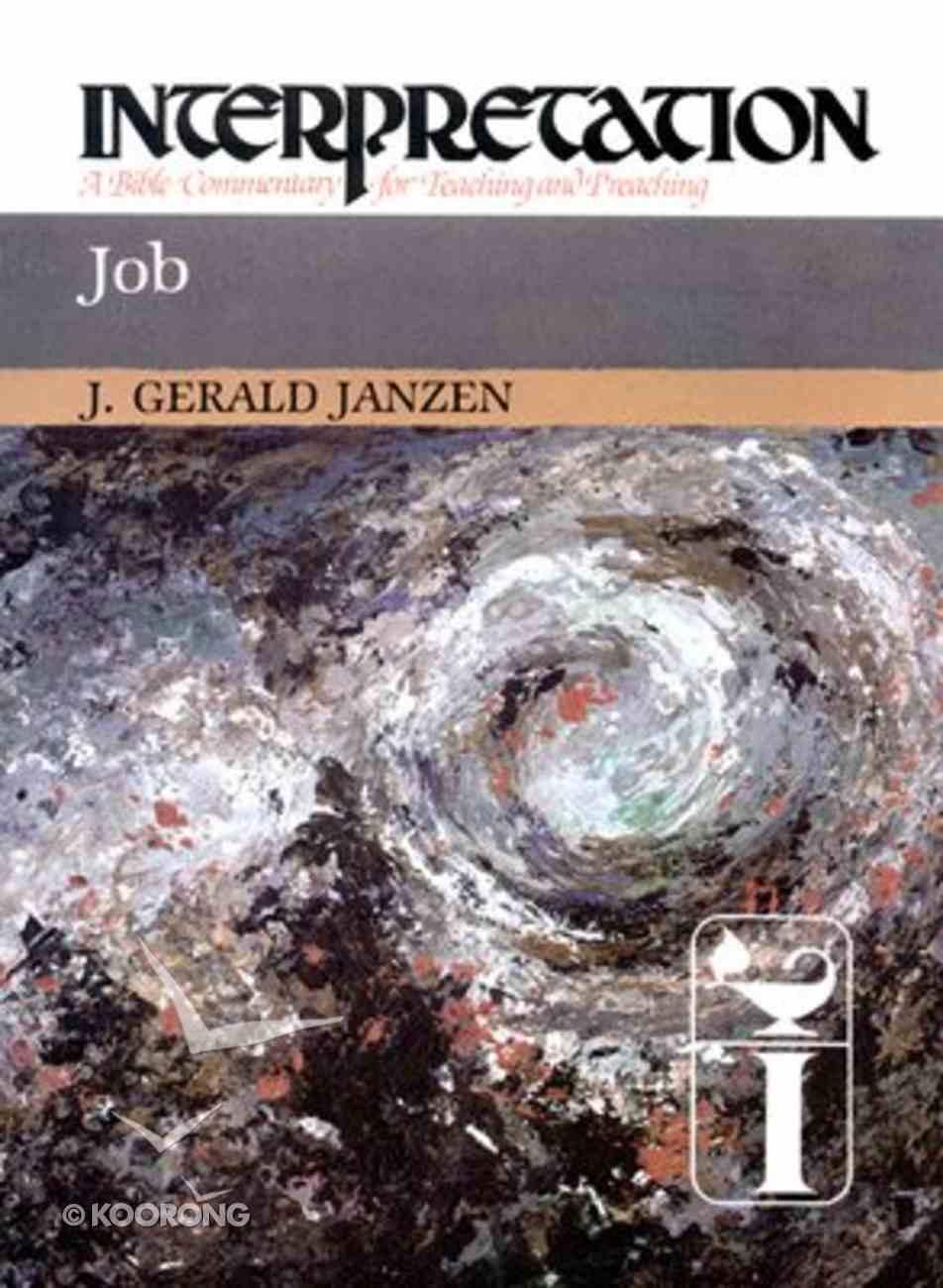 Job (Interpretation Bible Commentaries Series) Hardback