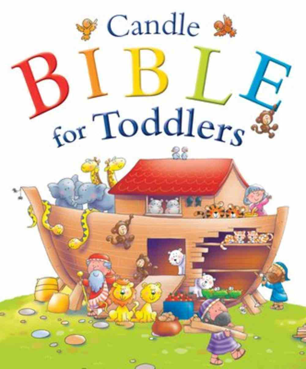 Candle Bible For Toddlers (Candle Bible For Toddlers Series) Hardback